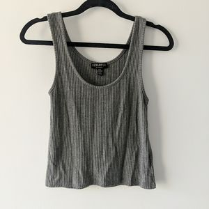 3 for $30 | Ribbed Grey Tank Top | Revamped